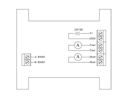 高温温湿度测量变送模块 GW100-D