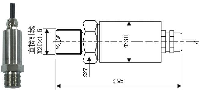 【金属应变式压力传感器】厂家价格与参数