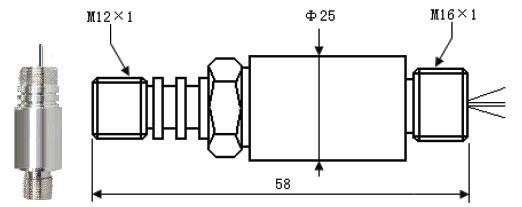 产品简介: 油井高温压力传感器敏感芯片使用离子溅射薄膜技术制作而成,采用溅射、刻蚀工艺直接形成在不锈钢弹性膜片上,彻底实现了敏感元件的无机质化,克服了有机粘结胶带来的蠕变、滞后、老化等不稳定因素,大大提高了产品的长期稳定性。产品采用不锈钢结构,激光焊接密封压力,具有外形尺寸小、精度高、性能稳定可靠、耐高低温、超长抗压力疲劳寿命等特点。特殊外形可定制。 产品用途: 石油钻井,测井,试井、井下仪器、油田数字压力仪表 航空航天发动机测试、战车发动机、液压、航海及造船、柴油机等 内燃机、试验机等高温、高压、恶劣