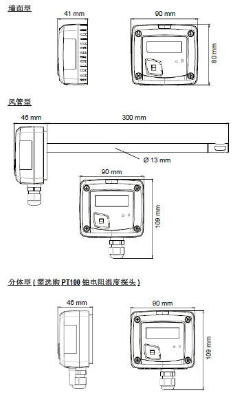 TM110温度变送器
